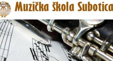 Концерт ученика Музичке школе у Суботици
