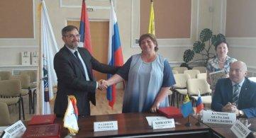 Србобран и Мишкин потписали Споразум о сарадњи