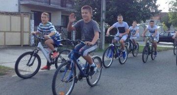 Бициклима до Бељанске баре