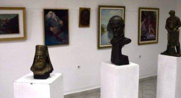 Скулптуре Љубисава М. Срдановића у Галерији ДК