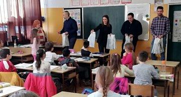 Школски прибор за ученике поводом Сватог Саве