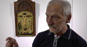 Иконе Милосава Павловића на излоби у Надаљу